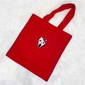 SCREAM KITTY Ghostface Canvas Bag - LYUU ORIGINAL